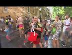 شاهد مهرجان فاليكاس السنوي للمياه في مدريد