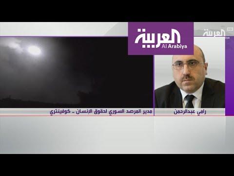 مدير المرصد السوري يعلن عن قصف أهداف محددة في سورية