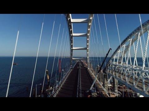 تعرف على طريقة بناء جسر إلى القرم