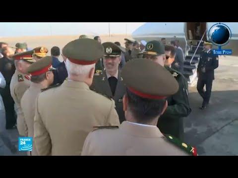شاهد وزير الدفاع الإيراني يقوم بزيارة مفاجئة إلى دمشق