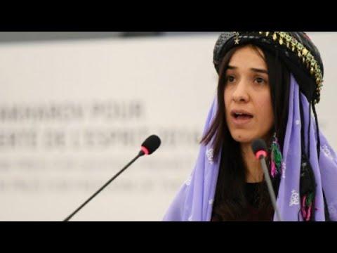 العراقية الإيزيدية ناديا مراد من حياة الاستعباد إلى نيل جائزة نوبل للسلام