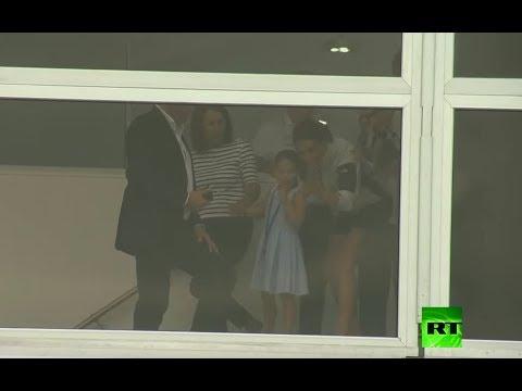 شاهد دوقة كامبريدج كيت ميدلتون في موقف محرج بسبب ابنتها