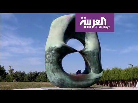 شاهد جدة تحتضن أولَ مُتحف مفتوح للمجسمات الفنية المختلفة