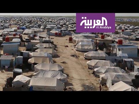 شاهد لقطات من داخل مخيمات عائلات داعش في الشمال السوري لرصد كورونا