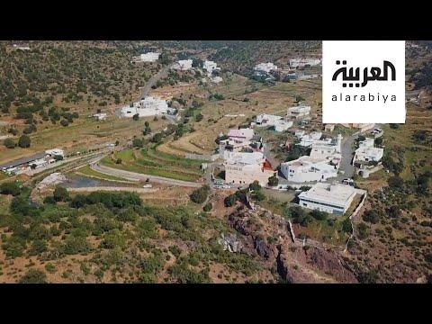 جولة داخل مدينة سياحية في منطقة عسير السعودية