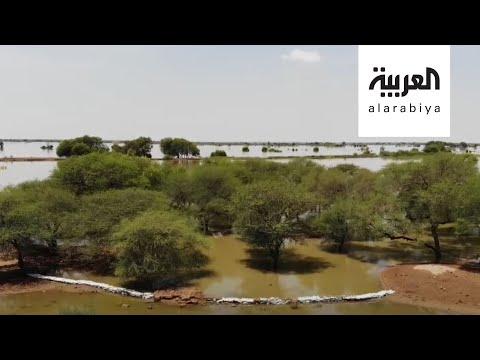 شاهد السلطات السودانية تنجح في إنقاذ المدينة الملكية للحضارة المروية