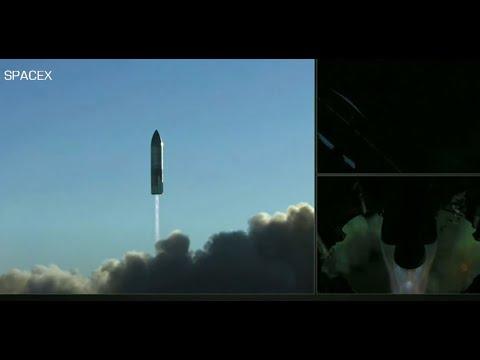 انفجار مركبة فضائية لـسبيس إكس أثناء مناورة الهبوط