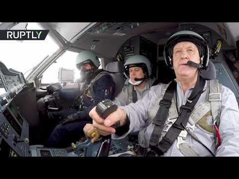 شاهد لقطات من أول رحلة طائرة إيل114300 الروسية الجديدة