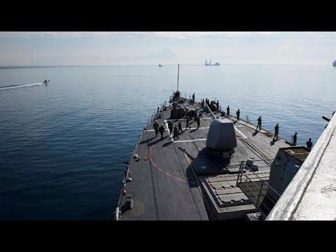شاهد روسيا تراقب تحركات البحرية الأميركية