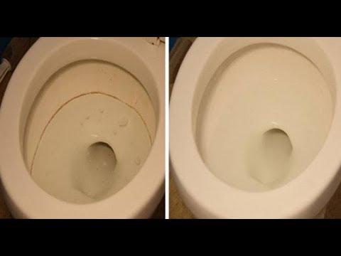 مُطهر طبيعي فعّال يخلصك من ترسبات المرحاض الصعبة