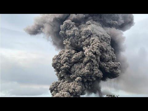 إنذار من غاز سام جراء بركان كيلاويا في هاواي