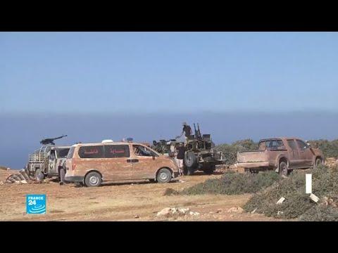شاهدوحدات من الجيش الليبي تتمكن من دخول أحياء في درنة