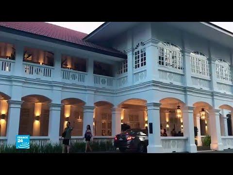 شاهد الفندق الذي  ستعقد فيه القمة بين ترامب وكيم