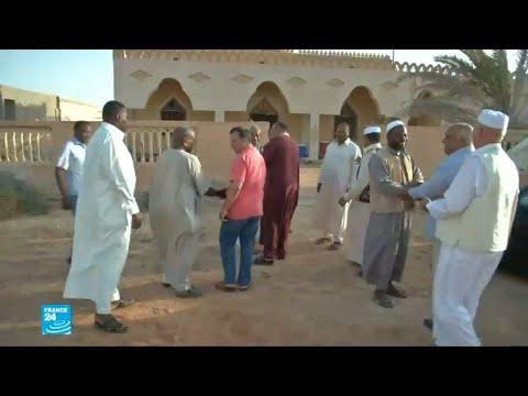 عائلات من تاورغاء الليبية يعودون إلى ديارهم