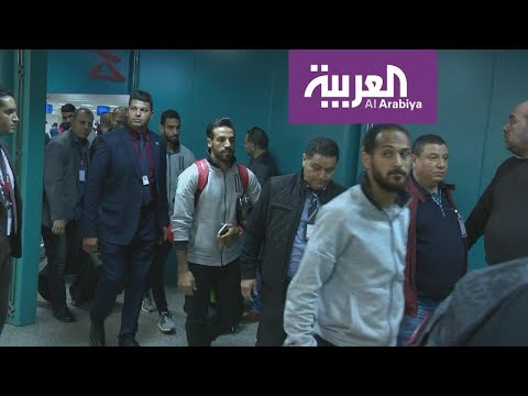 شاهد وصول بعثة الأهلي المصري إلى تونس لملاقاة الترجي
