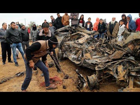 شاهدتعليق الجيش الإسرائيلي عن هجوم خان يونس و الضابط الذي قتل