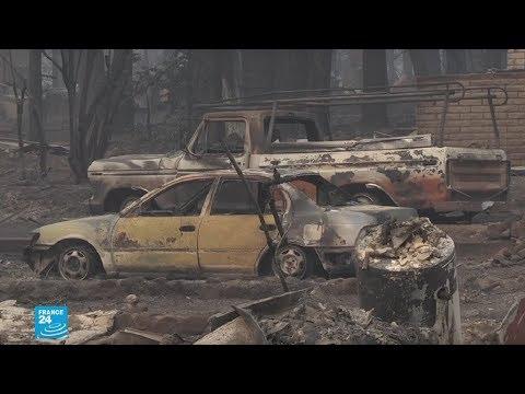 شاهد حرائق كاليفورنيا الأكثر تدميرًا في تاريخ الولايات المتحدة الأميركية
