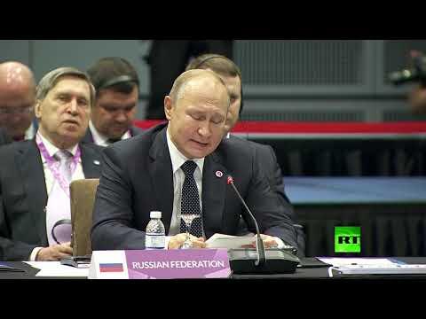 شاهد بوتين يؤكد اهتمام روسيا بـ آسيان كشريك ضد الإرهاب