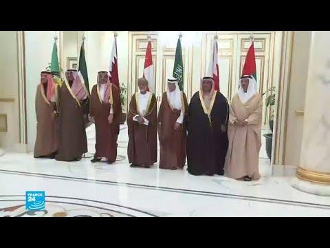 شاهد أمير قطر يتلقى دعوة من السعودية لحضور قمة مجلس التعاون الخليجي