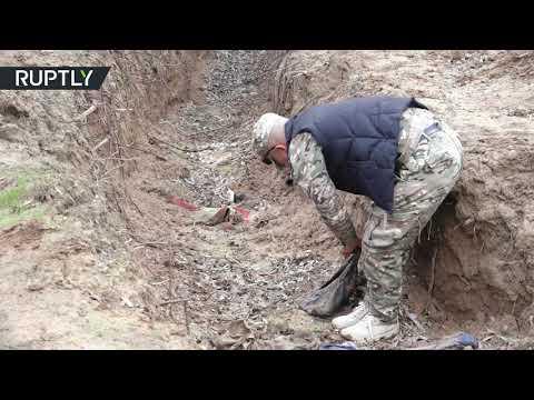 شاهد العثور على 7 مقابر جماعية في كركوك العراقية