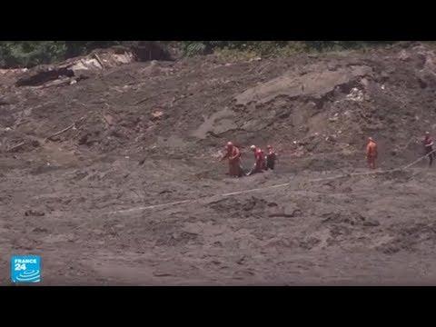 شاهد ارتفاع ضحايا انهيار سد منجمي في البرازيل إلى 99 قتيلًا