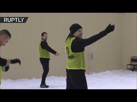 شاهد نجم منتخب روسيا السابق يتحدى السجن بـ7 أهداف