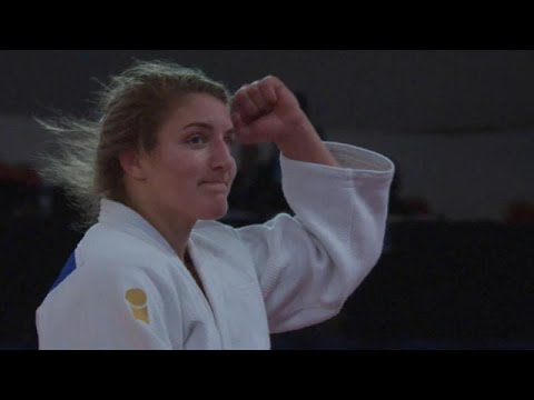 الجيدو السلوفينية أندريا ليسكي تفوز بالميدالية الأكثر لمعانًا في جائزة مراكش الكبرى