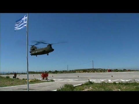 رئيس وزراء اليونان يتهم مقاتلات تركية بالتحرش بمروحيته