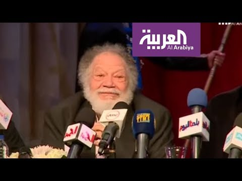 شاهد نجوم المسرح المصري يحتفلون بافتتاح مسرحية الملك لير