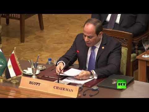 الرئيس السيسي يُؤكّد ضرورة تكاتف الجميع لدعم الخرطوم