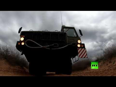 عملية إطلاق صواريخ منظومة اس300 الروسية