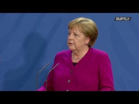 شاهد ميركل تنفي ترشّحها لأي منصب سياسي في الاتحاد الأوروبي