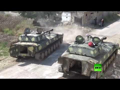 شاهد الجيش السوري يفرض السيطرة على بلدة الحويز في ريف حماة