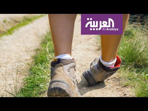 شاهد مُقدِّم صباح العربية يُمارس تمارين توازن على الهواء