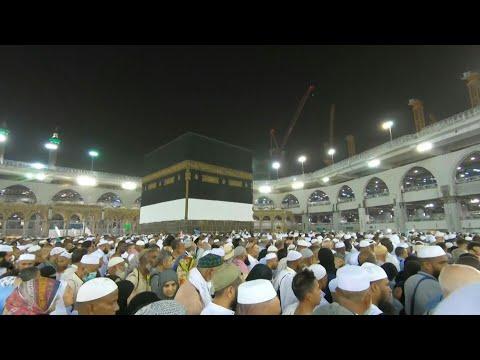 شاهد أكثر من مليونَي مسلم يستعدون لأداء مناسك الحج في السعودية
