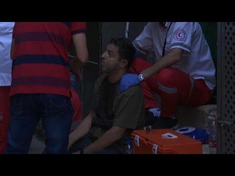 شاهد مقتل فلسطيني برصاص إسرائيلي في القدس إثر عملية طعن