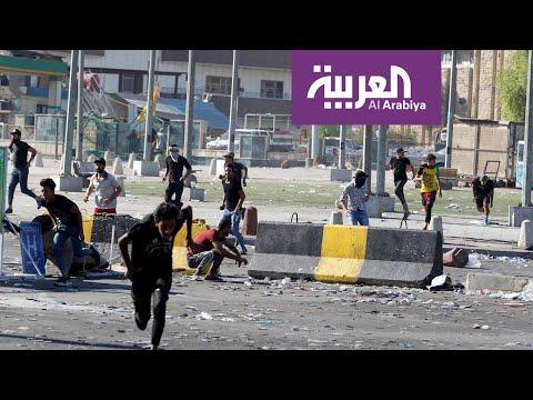 شاهد عبد المهدي يُلقي كلمة لتهدئة الشارع العراقي