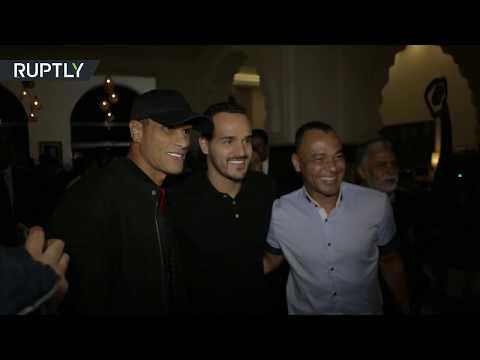 شاهد محمد أبو تريكة وإيتو يهزمان نجوم العالم في المغرب