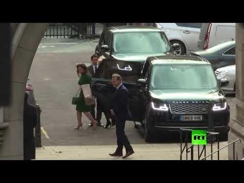 شاهد وصول الأميرة هيا بنت الحُسين إلى المحكمة العليا في لندن