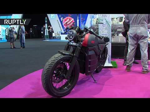 شاهد شركة كلاشنيكوف تعرض دراجتها النارية الكهربائية