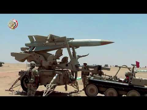 شاهد الجيش المصري ينشر مشاهد مُثيرة لمناورات قادر 2020