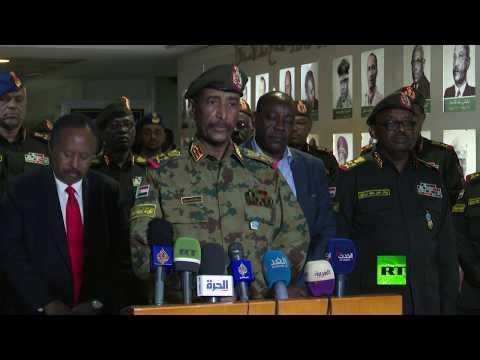 شاهد البرهان يؤكد أن مقر المخابرات العامة السودانية تحت السيطرة