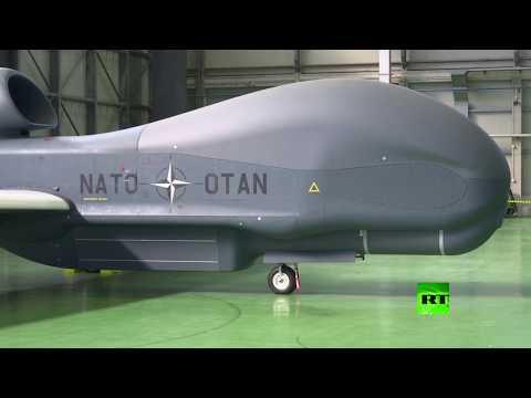 شاهد حلف الناتو يعرض درونات جديدة له