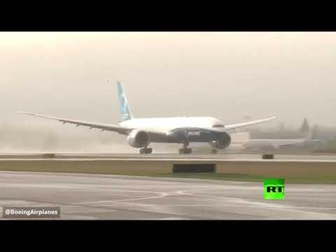 شاهد أول رحلة تجريبية لبوينغ 777إكس