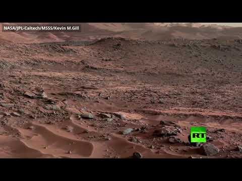 شاهد فيديو من كيوريوسيتي يعرفك على تضاريس المريخ عبر كاميرا فائقة الدقة