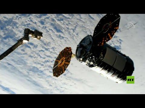 شاهد سفينة شحن تنقل حمولة لمحطة الفضاء الدولية ناسا