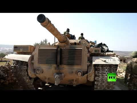شاهد تعزيزات عسكرية تركية جديدة تدخل محافظة إدلب السورية