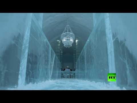 شاهد فندق من الجليد في السويد يفتح أبوابه لعشاق الثلج