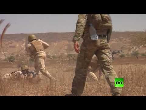 شاهد الولايات المتحدة تُطلق مناورات عسكرية بمشاركة 34 دولة أفريقية