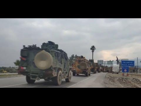 شاهد تعزيزات جديدة للجيش التركي في إدلب في سورية